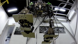 Exo skeleton in lab at Duke University, North Carolina.